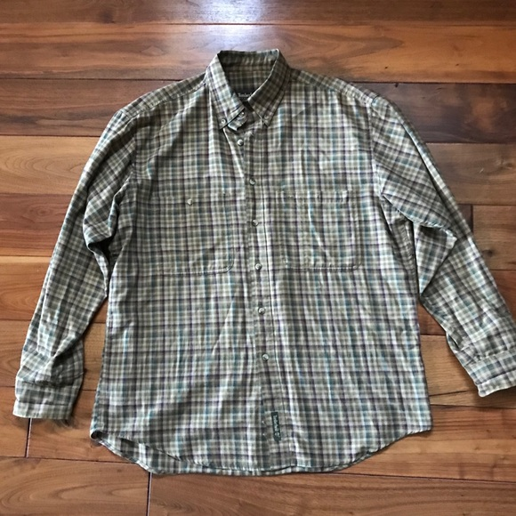 Timberland Other - Timberland Checkered Long Sleeve Button Down